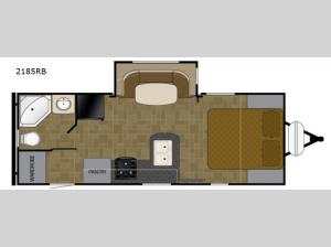 Wilderness 2185RB Floorplan Image