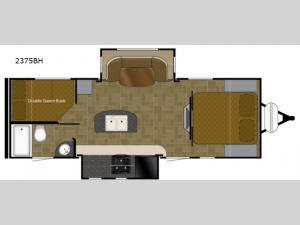Wilderness 2375BH Floorplan Image