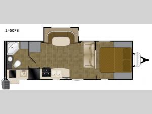 Wilderness 2450FB Floorplan Image