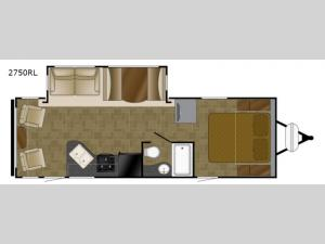 Wilderness 2750RL Floorplan Image