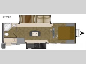 Wilderness 2775RB Floorplan Image
