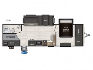 Sprinter Campfire Edition 29BH Floorplan Image