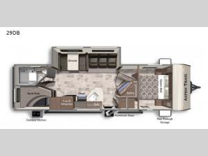 Aspen Trail LE 29DB Floorplan Image