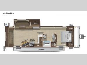 Mesa Ridge Limited MR260RLS Floorplan Image