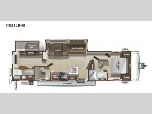 Mesa Ridge Limited MR331BHS Floorplan Image