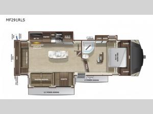 Mesa Ridge Limited MF291RLS Floorplan Image