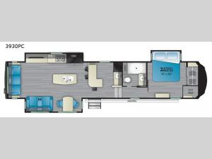 Bighorn 3930PC Floorplan Image