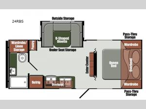 Northern Express Limited Edition Series 24RBS Floorplan Image