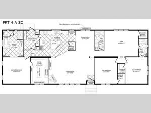 Double Section PRT 4 A SC Floorplan Image