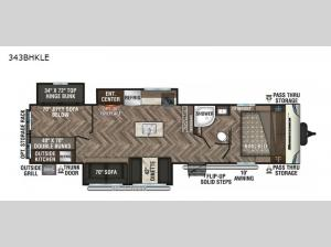 Sportsmen LE 343BHKLE Floorplan Image