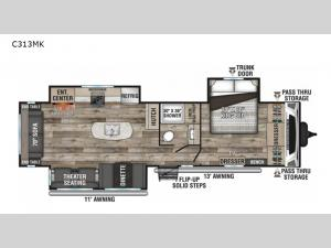 Connect C313MK Floorplan Image