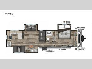Connect C323RK Floorplan Image