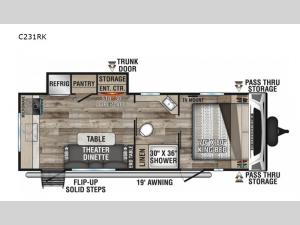 Connect C231RK Floorplan Image