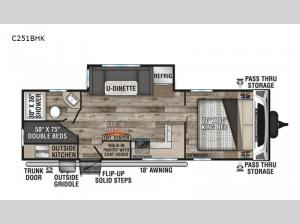 Connect C251BHK Floorplan Image