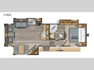 Eagle HTX 27SGX Floorplan Image