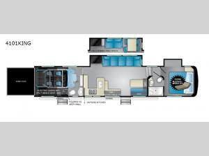 Cyclone 4101KING Floorplan Image