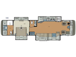 Berkshire XL 40B Floorplan Image