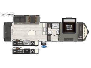 Sprinter 3151FWRLS Floorplan Image