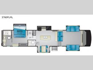 South Fork 3760FLML Floorplan Image