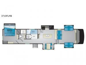 South Fork 3710FLMB Floorplan Image