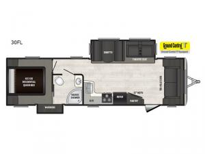 Sprinter Campfire Edition 30FL Floorplan Image