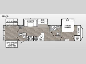 Puma Destination 39PQB Floorplan Image
