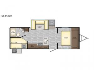 Sunset Trail Super Lite SS242BH Floorplan Image