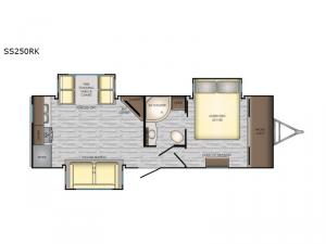 Sunset Trail Super Lite SS250RK Floorplan Image
