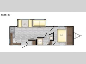 Sunset Trail Super Lite SS251RK Floorplan Image