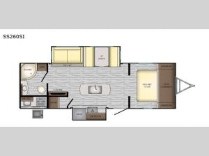 Sunset Trail Super Lite SS260SI Floorplan Image