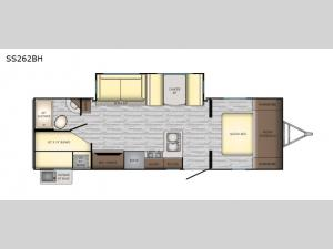 Sunset Trail Super Lite SS262BH Floorplan Image