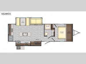 Sunset Trail Super Lite SS285CK Floorplan Image