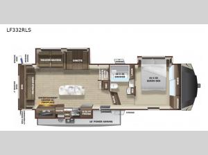 Open Range Light LF332RLS Floorplan Image