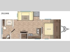 Zinger ZR229RB Floorplan Image