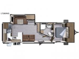 Open Range Light LT280RKS Floorplan Image