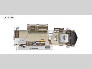 Open Range Light LF292BH Floorplan Image