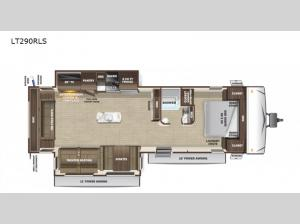 Open Range Light LT290RLS Floorplan Image