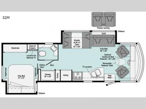Vista 32M Floorplan Image