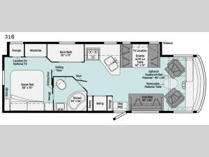 Vista 31B Floorplan Image