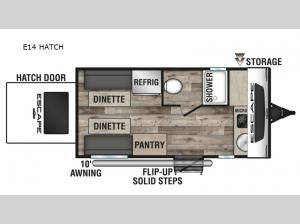 Escape E14 HATCH Floorplan Image