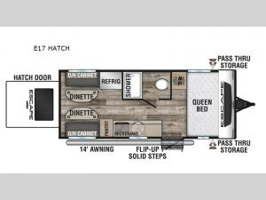 Escape E17 HATCH Floorplan Image