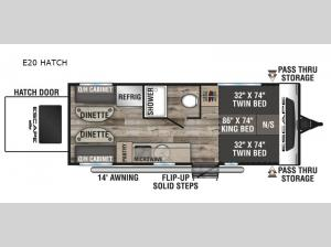 Escape E20 HATCH Floorplan Image