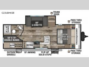 Connect SE C231BHKSE Floorplan Image