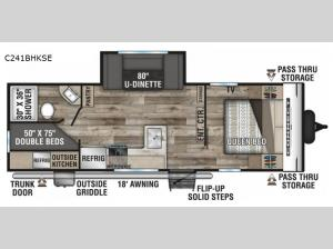 Connect SE C241BHKSE Floorplan Image