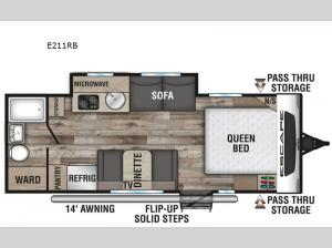 Escape E211RB Floorplan Image