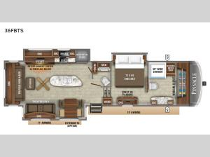 Pinnacle 36FBTS Floorplan Image