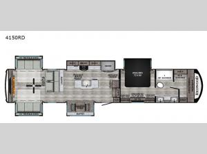 Redwood 4150RD Floorplan Image
