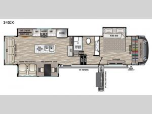 Cedar Creek 345IK Floorplan Image