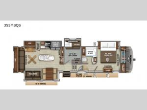 Eagle 355MBQS Floorplan Image