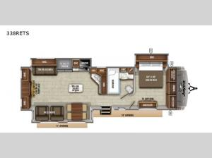 Eagle 338RETS Floorplan Image